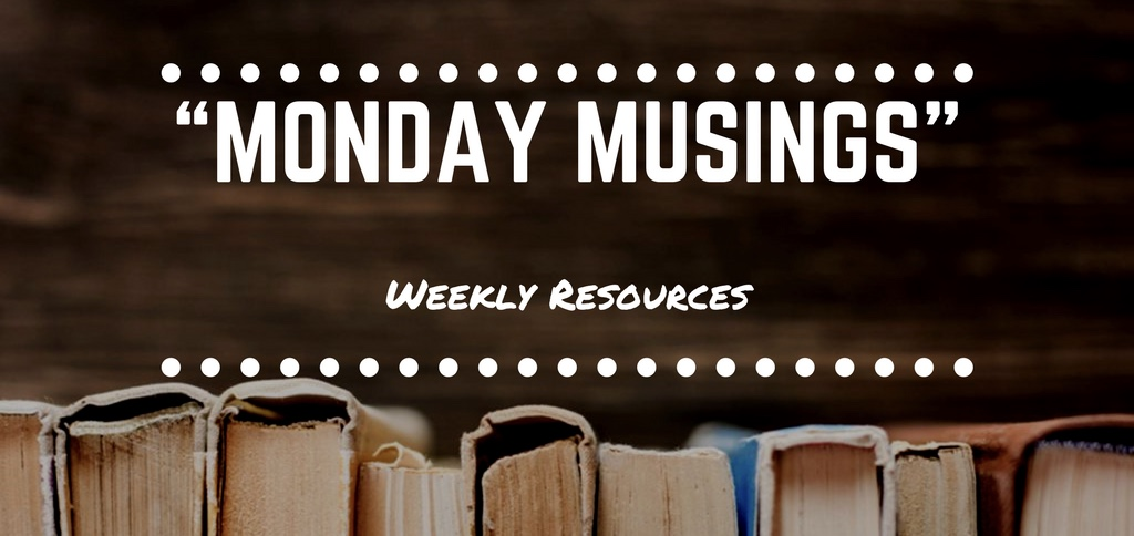 """Monday Musings #1"" (New Segment)"