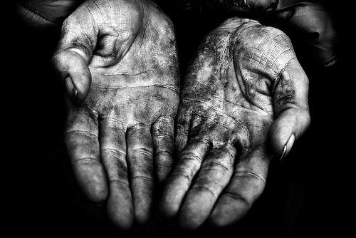 Gritty, Faithful Hands
